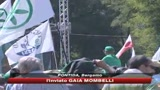 14/06/2009 - Lega a Pontida, Bossi: noi indispensabili per governo  