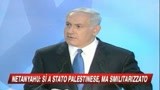 Medio Oriente, Nethanyau ai palestinesi: Pace subito