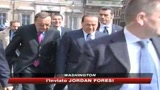 Berlusconi a Washington, oggi l'incontro con Obama