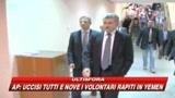 Maroni: D'Alema preoccupa quando parla di nuove scosse