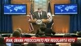 Iran, Ban Ki-moon: Si rispetti la volontà del popolo