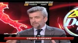 Amministrative, Damiano: Per noi risultato positivo