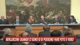 Berlusconi: quando ci sono io si possono fare foto