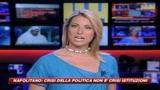 Napolitano, crisi politica non è crisi della democrazia
