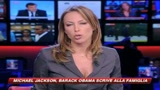 Addio Jacko, Obama scrive alla famiglia