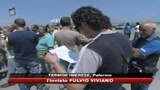 29/06/2009 - Termini Imerese, blocchi e proteste degli operai Fiat