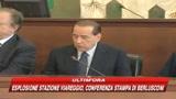 Viareggio, Berlusconi: Sarà evacuata zona esplosione