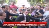 Viareggio, Berlusconi: sarà evacuata la zona dell'esplo