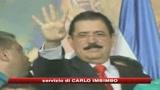 Honduras, presidente deposto rientra in patria