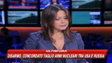 06/07/2009 - Concordato il taglio di armi nucleari tra Usa e Russia