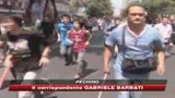 Scontri in Cina, lacrimogeni contro i manifestanti