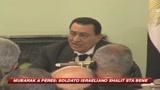 Mubarak a Peres: il soldato israeliano Shalit sta bene