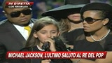 Funerali Jacko: le lacrime della figlia (luglio 2009)