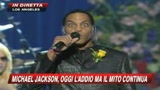I grandi della musica rendono omaggio a Jacko