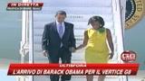 G8, a Roma è il giorno di Barack e Michelle