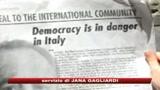 10/07/2009 - Di Pietro attacca Berlusconi sull'Herald Tribune