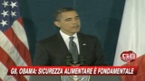 10/07/2009 - G8, Obama: Sicurezza alimentare è fondamentale