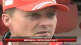 12/07/2009 - Ferrari, Schumacher: contento per primo podio di Massa
