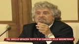 13/07/2009 - Pd, Grillo: mi candido. Ma Fassino chiude la porta