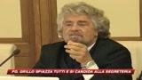 13/07/2009 - Pd, Grillo: mi candido. Ma Fassino chiude la porta