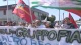 Fiat, proteste allo stabilimento Cnh di Imola