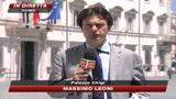16/07/2009 - Crisi, Napolitano: Va corretto il divario Nord-Sud