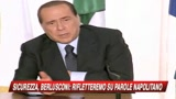16/07/2009 - Sicurezza, Berlusconi: con Napolitano rapporti positivi