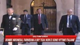 17/07/2009 - Sicurezza, Berlusconi: riflettere su parole del Colle