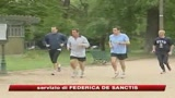 26/07/2009 - Sarkozy colto da malore mentre fa sport