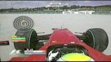 26/07/2009 - Felipe Massa salvato dal casco al carbonio