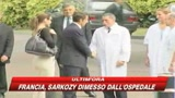 Francia, Sarkozy dimesso dall'ospedale
