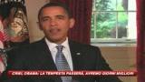 Crisi, Obama: tempesta passerà, avremo giorni migliori