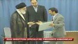 Iran, Khamenei conferma Ahmadinejad presidente 