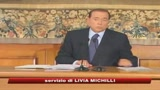 07/08/2009 - Berlusconi, fa il primo bilancio di governo