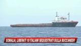 10/08/2009 - Buccaneer, liberati i marinai italiani.