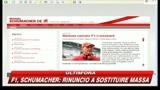11/08/2009 - F1, Schumacher ci ripensa: Non sostituirò Massa