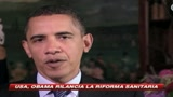 15/08/2009 - Riforma sanit, Obama: abbassare la voce e ascoltarci