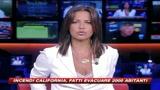 16/08/2009 - California, 2000 abitanti fatti evacuare per incendi