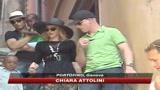 17/08/2009 - Madonna a Portofino, le immagini di SKY TG24