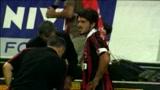 30/08/2009 - Derby amaro per Gattuso: espulsione e infortunio