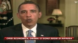 05/09/2009 - Barack Obama: Sono tempi duri, ma la ripresa ci sar