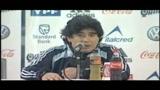 Argentina nei guai, Maradona: guardiamo avanti
