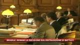 08/09/2009 - Battisti, giudici brasiliani divisi sull'estradizione