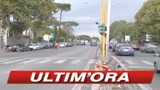 Roma, polizia sgombera edifcio, bloccata via Salaria