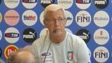 09/09/2009 - Italia-Bulgaria, Lippi: è la partita più importante
