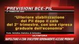 Crisi, Bce: Finita la caduta del Pil, ripresa graduale
