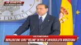 10/09/2009 - Berlusconi: Non esiste alcun giro di prostituzione