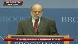 Crisi, Bernanke: negli Usa forse la recessione è finita