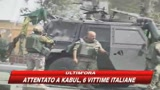 17/09/2009 - Kabul, colpiti due mezzi blindati italiani: 6 morti