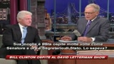 I segreti di Bill Clinton al David Letterman Show